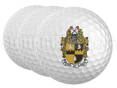 ALPHA PHI ALPHA GOLF BALLS (SET OF 3)  Item Id: AFA-GOLFBALL    Price: $15.00