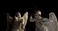 don't blink. or turn out the lights...