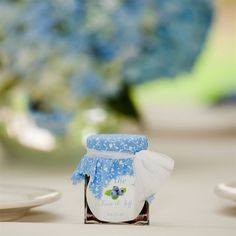 The Basics of Wedding Favors -- like this cute homemade jam! || By The Knot. || Featured in the 4-months-away free email reminder at MyWeddingReminders.com.