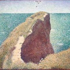 Georges Pierre Seurat Le Bec du Hoc, Grandcamp, 1885 Oil on Canvas The Australian National Gallery
