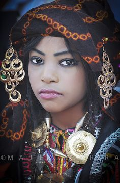 Africa | Portrait from Libya   - Explore the World with Travel Nerd Nici, one Country at a Time. http://TravelNerdNici.com