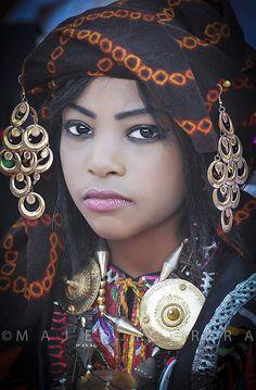 Africa: Berber girl, Libya | ©Majed Egira