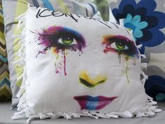 How to Make a No-Sew Throw Pillow from an Upcycled T-Shirt >> http://www.diynetwork.com/decorating/how-to-make-a-no-sew-pillow-from-an-upcycled-t-shirt/pictures/index.html?soc=pinterest