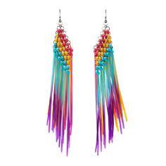 chainmail zip-tie earrings - Etsy $90, DIYable