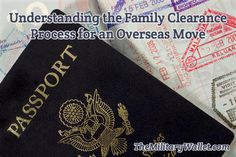 Understand the Family Clearance Process for OCONUS PCS