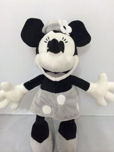Minnie Preto/branco 26cm Turma Do Mickey Disneyworld Disney - R$ 120,00 no MercadoLivre