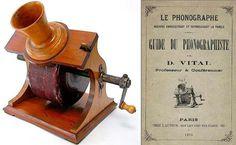 Vital Tinfoil Phonograph