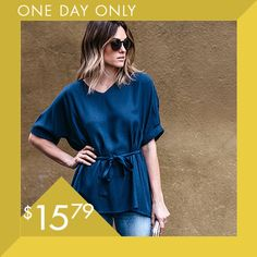Take a look at this One-Day Style Steal event today!