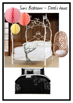 """Sun's Bedroom - Derek's House"" by thenightismymisery on Polyvore"