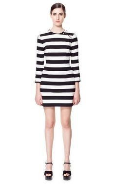 MILITARY DRESS - Dresses - Woman - ZARA United Kingdom