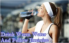 It sounds strange, but drinking warm water as the first thing in the early morning and then doing the exercise below is considered as a great way to help to reduce a hiatal hernia from the gap in your diaphragm.