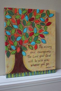 one of those great reminder verses ... wish I could paint and make this for myself