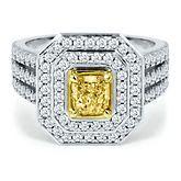 Vivaldi 1 1/2ct TW Diamond Engagement Ring in 18K Gold