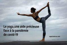 le yoga peut nous aider à faire face à l'incertitude et à l'anxiété et jouer un rôle important dans les soins et la réadaptation des patients atteints de la Covid-19 en apaisant les craintes et la tristesse #anxiété #Journéeinternationaleduyoga #pandémiecovid #stress #yoga Important, Jouer, Chakras, Yoga, Lifebuoy, Dealing With Stress, Health Challenge, The Body, Psychology
