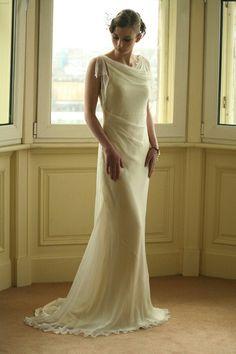 30s wedding dress. Beautiful