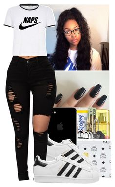 Naps by jasmine1164 on Polyvore featuring polyvore, fashion, style, adidas Originals, Michael Kors and clothing
