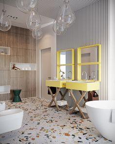 children bathroom, contemporary bathroom