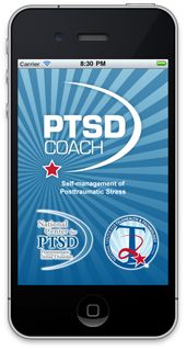 """""""PTSD Coach"""": a mobile app for recovery from trauma, including potentially PTSD from sexual assault."""