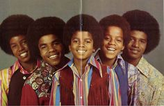 the jackson 5 | more of a Jackson 5 look. I think he may have overshot Jackson 5 ...