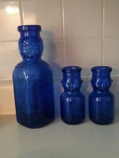 Milk bottles. Smaller size used in schoolhouse. From the dairy farm area upper Delaware County, NYS.