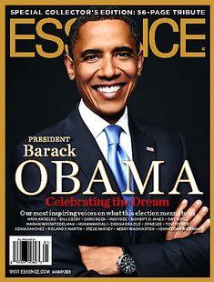 President Obama magazine covers.