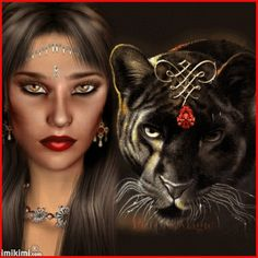 The panther is a symbol of courage, valor and power. The panther has also sometimes associated with the sun, andsolar vibrancy in some cultures. Individuals with panther totem s are usually people who come into this world with a spiritual knowing - a deeper understanding of spiritual things.