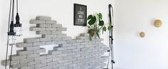 Væg af sten @fornydinbolig.dk House Doctor, Home, Design, Modern, Creative, Ad Home, Homes, Haus