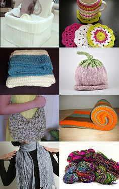 crochet and knitting!!! by Ewa Kozlowska on Etsy--Pinned with TreasuryPin.com