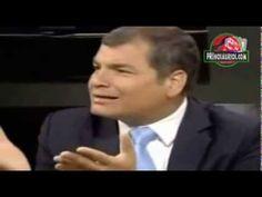 El presidente de Ecuador Rafael Correa opina sobre Peña Nieto