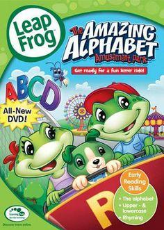 Leap Frog - The Amazing Alphabet Amusement Park DVD Movie