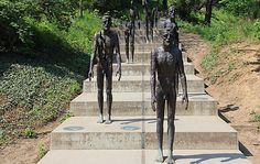 Memorial to the Victims of Communism in Prague: When heading to Petrin Hill, don't forget to stop by to see several statues reminding those passing by of the victims of the Communist era. Detailed information http://www.tripomatic.com/Czech-Republic/Prague/Memorial-to-the-Victims-of-Communism/