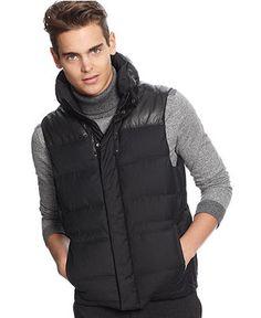 Calvin Klein Vest, CK One Puffer Vest - Mens Coats & Jackets - Macy's