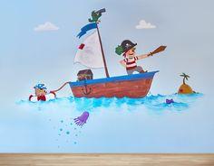 Mural de Alejandro el Pirata