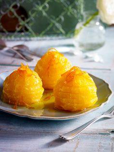 Die Süße von Karamell und die Frische der Orange ergeben eine Geschmacksexplosion auf der Zunge!