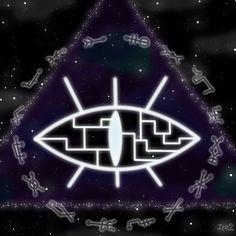 Gravity falls bill cipher ( universe connect ) by kazaret on deviantart