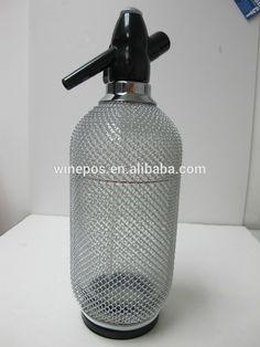 soda siphon, soda bottle, Vintage Glass Soda Siphon Soda Bottles, Bar Accessories, Soap Dispenser, Glass, Stuff To Buy, Vintage, Soap Dispenser Pump, Drinkware, Corning Glass
