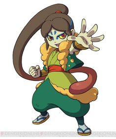 Youkai Watch.  Ougama