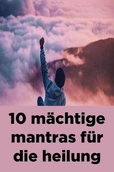 "powerful mantras for healing"" - Yoga und Fitness - ENG Reiki Meditation, Yoga Kundalini, Yin Yoga, Fitness Workouts, Yoga Fitness, Fitness Diet, Fitness Motivation, Força Interior, Yoga Mantras"