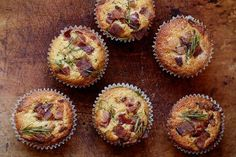Huckleberry Bacon Corn Muffins - For Christmas brunch Muffin Recipes, Brunch Recipes, Breakfast Recipes, Savory Breakfast, Breakfast Muffins, Savory Muffins, Bacon Muffins, Cheese Muffins, Bacon Cornbread