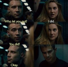 ~Divergent~ ~Insurgent~ ~Allegiant~ My Life Divergent Memes, Divergent Film, Divergent Hunger Games, Divergent Fandom, Divergent Insurgent Allegiant, Tfios, Divergent 2014, Insurgent Quotes, Books Like Divergent