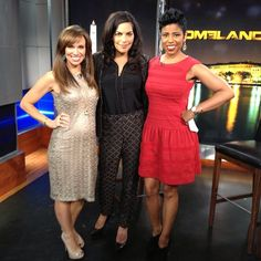 Things are heating up on Homeland! Mira Berenson aka #saritachoudhury stopped by #newyorklivetv last week to dish