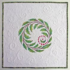 Jill Buckley - love the delicacy of the applique design (especially the berries) and the beautiful quilting