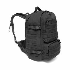 WARRIOR PREDATOR BACK PACK BLACK