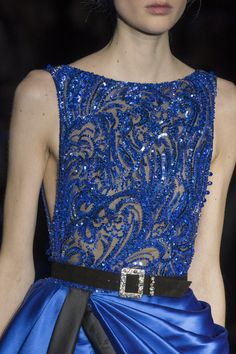 Susanne Knipper for Zuhair Murad SS17 Haute Couture Zuhair Murad at Couture Spring 2017 - Details Runway Photos