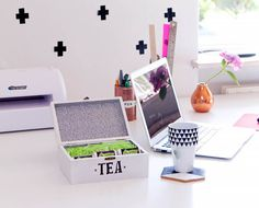 DIY-Upcycling Tea Storage Box - Home Clean Experts