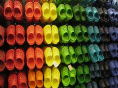 63670d8ca0cb9e Croc in all the colors of the rainbow