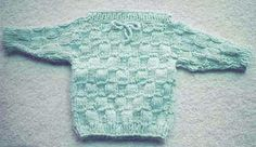 Baby Pullover Sweater Knitting Pattern