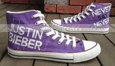 Justin Bieber Shoes Hand Painted Shoes High-top Painted Canvas S,High-top Painted Canvas Shoes