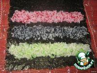 "Роллы ""Арабески"" или маки-суши ингредиенты Japanese Sushi, Cake, Desserts, Recipes, Food, Tailgate Desserts, Deserts, Kuchen, Essen"