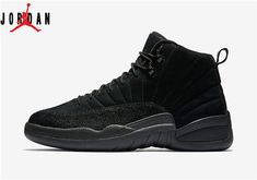 newest d53f4 07fce Men s Air Jordan 12 Ovo Black Basketball Shoes Black Black-Metallic Gold  873864-